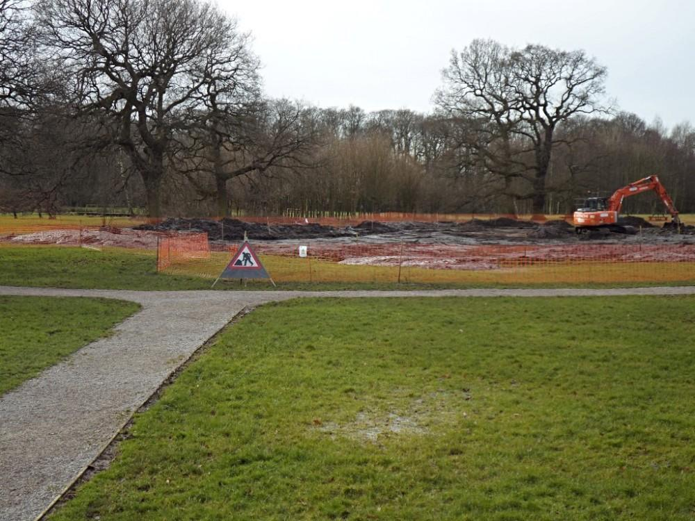 Millennium Green Pond Construction - February 2018 Gallery Main Photo